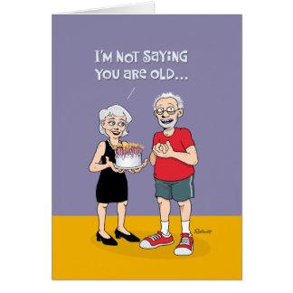 """De grappige 75ste Verjaardag """"over van de Heuvel"""" Briefkaarten 0"""