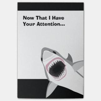 De grappige Aanval van de Haai Post-it® Notes