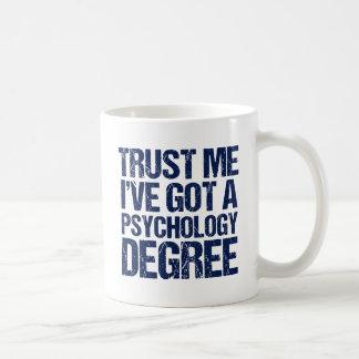De grappige Afstuderen van de Psychologie Koffiemok