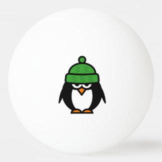 De grappige ballen van de pinguïnpingpong voor