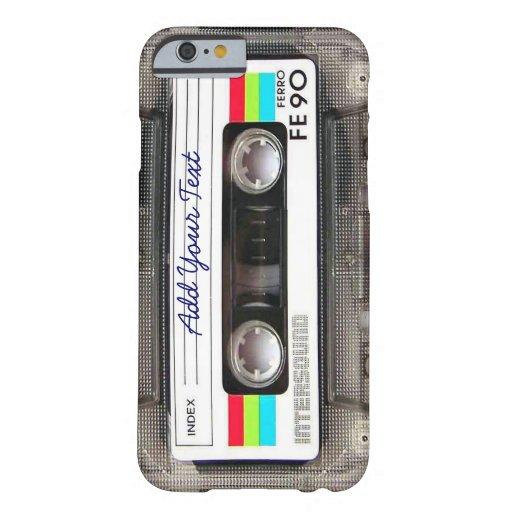 De grappige Band van de Cassette van de Muziek van Barely There iPhone 6 Case