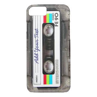 De grappige Band van de Cassette van de Muziek van iPhone 7 Hoesje