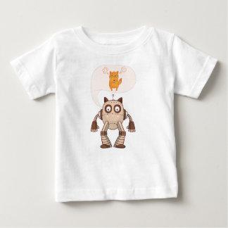 De grappige Boze Kat van het Neon met Baby T Shirts