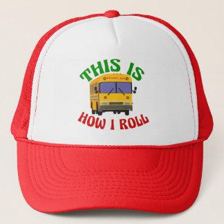 De grappige Buschauffeur van de School Zo rol ik Trucker Pet