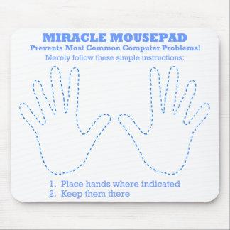 De grappige Computer Mousepad van het Mirakel Muismatten