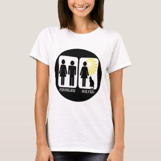 De grappige Dame van de Kat T Shirt