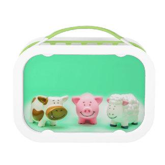 De grappige Dieren bewerken Lunchbox van het Speel