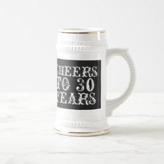 De grappige douane juicht aan 30 jaar van de bierpul