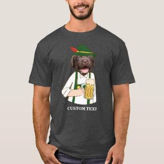 De grappige Douane van de Minnaar van het Bier van T Shirt