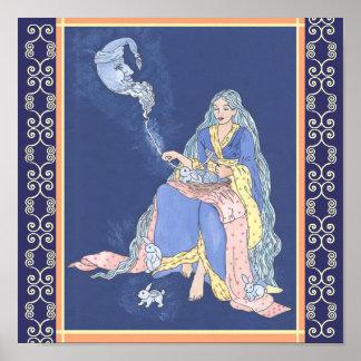 De grappige Droom van het Konijntje Poster