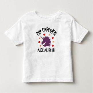 De grappige Eenhoorn maakte me het doen de T-shirt