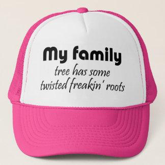 De grappige familie citeert de pettengiften van de trucker pet