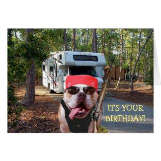 De grappige Gelukkige Kaart van de Verjaardag van