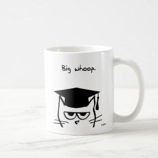 De grappige Gift van Afstuderen - de Kat is niet Koffiemok
