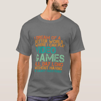 De grappige Gift van de T-shirt Gamers voor Nerds