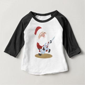 De grappige Gift van Kerstmis van de Gitaar van de Baby T Shirts