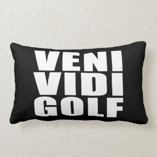 De grappige Golfspelers citeert Grappen: Het Golf Lumbar Kussen