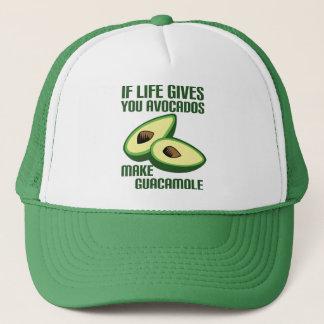 De grappige Grap van de Avocado Guacamole Trucker Pet