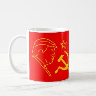 De grappige Hamer en sikkel van Donald Trump Koffiemok
