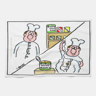 De grappige Handdoek van de Keuken van de Cartoon