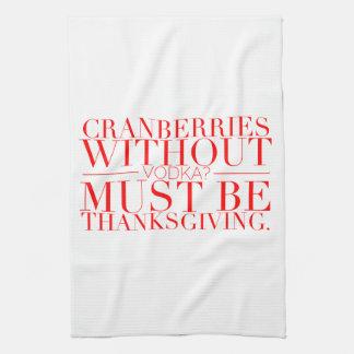 De grappige Handdoek van de Thanksgiving