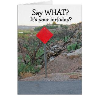 De grappige het kaart-Mannen van de Verjaardag Briefkaarten 0