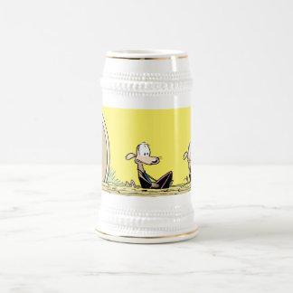 De grappige het Surfen Stenen bierkroes van het Bierpul