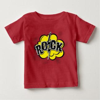 De grappige illustratie van de stijlrots baby t shirts