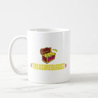 De grappige Jacht van de Schat Koffiemok