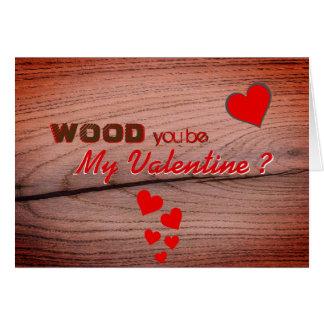 De grappige Kaart van de Groeten van Valentijn