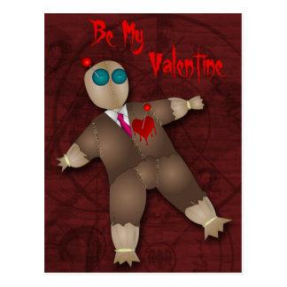 De grappige Kaart van het Recept van Valentijn van Briefkaart
