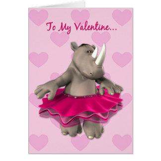 De grappige Kaart van Valentijn