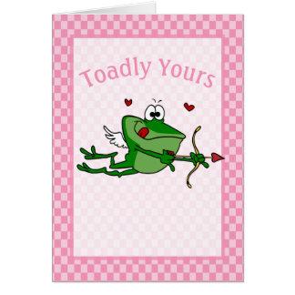 De grappige Kaart van Valentijn van de Cupido van