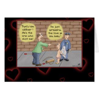 De grappige Kaarten van Valentijn: Het uitspreiden