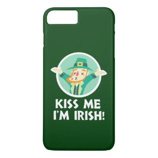 De grappige Kabouter kust me ik ben Ierse Heilige iPhone 8/7 Plus Hoesje