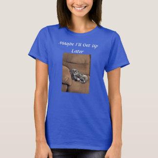 De grappige Kat van de Wasbeer van Maine T Shirt