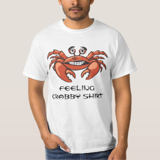 De grappige Kerels van de Krab koelen Trendy Humor T Shirt