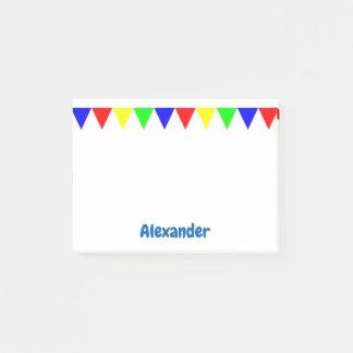 De grappige Kleurrijke Driehoeken Post-it® Notes