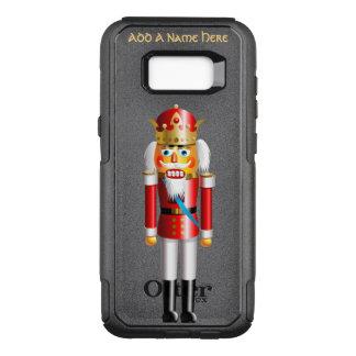De grappige Koning van de Notekraker van Kerstmis OtterBox Commuter Samsung Galaxy S8+ Hoesje