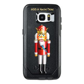 De grappige Koning van de Notekraker van Kerstmis OtterBox Samsung Galaxy S7 Edge Hoesje