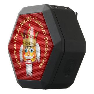 De grappige Koning van de Notekraker Zwarte Bluetooth Speaker