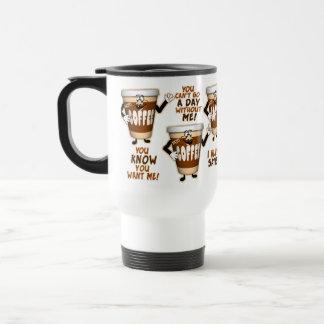 De grappige Minnaar van de Koffie Reisbeker