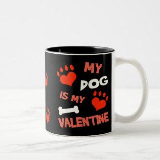 De grappige Mok van de Valentijnsdag van de Hond