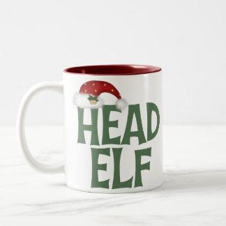 De grappige Mok van het Elf van Kerstmis