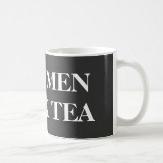 De grappige mok voor kerels | Echt man drink thee