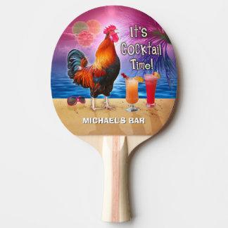 De grappige Naam van het Strand van de Cocktail Tafeltennis Bat