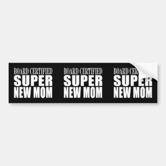 De grappige Nieuwe Moeders van Baby showers: Super Bumpersticker