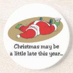 De grappige onderzetters van Kerstmis