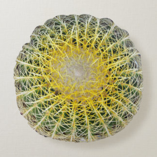 De grappige Ongemakkelijke Botanische Cactus van Rond Kussen