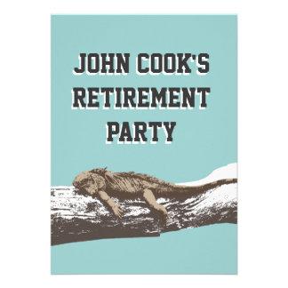 De grappige Ontspannen Uitnodigingen van de Partij
